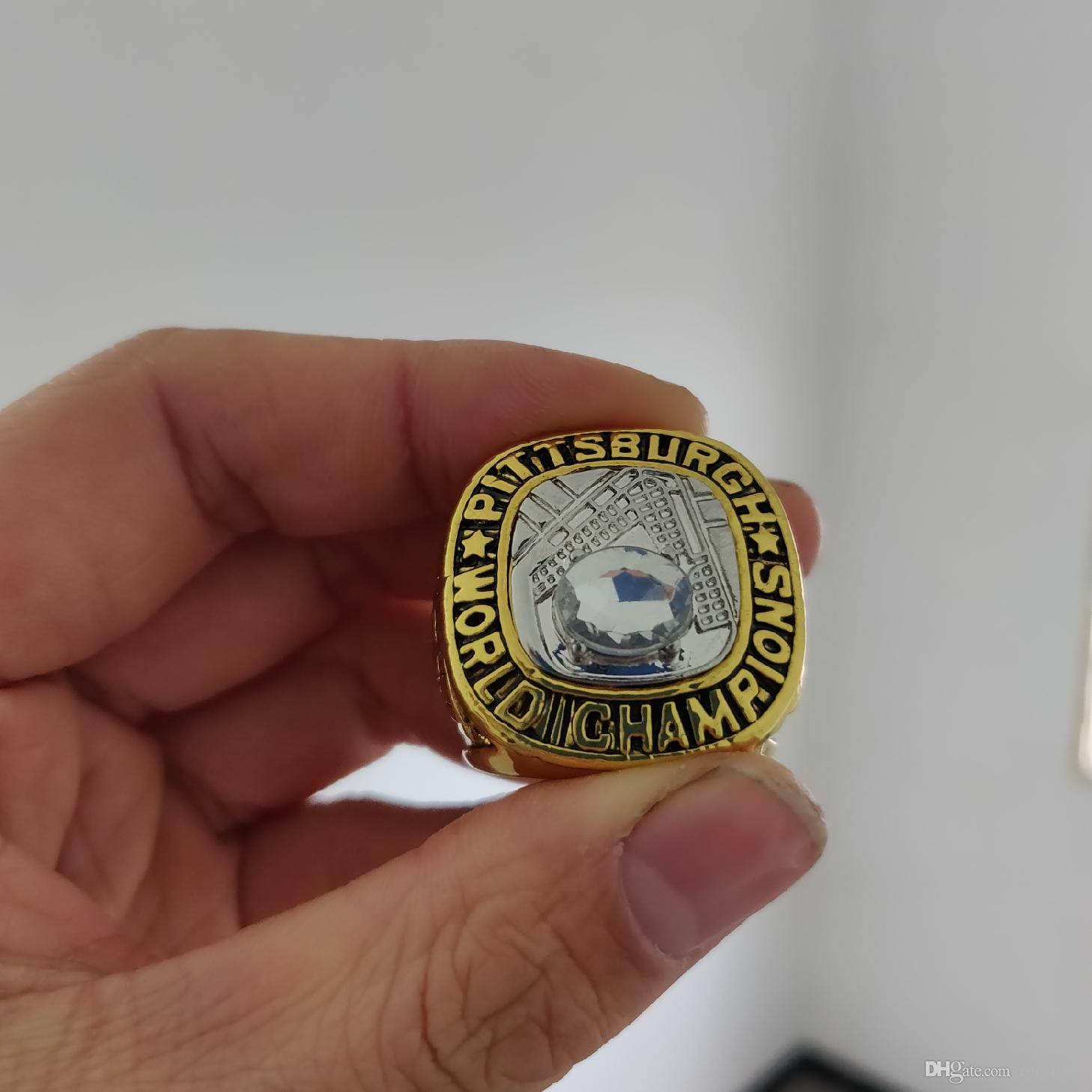 2019 wholesale PITTSBURGH 1960 PIRATES WORLD SERIES CHAMPIONSHIP RING Fan Men Gift Wholesale Drop Shipping