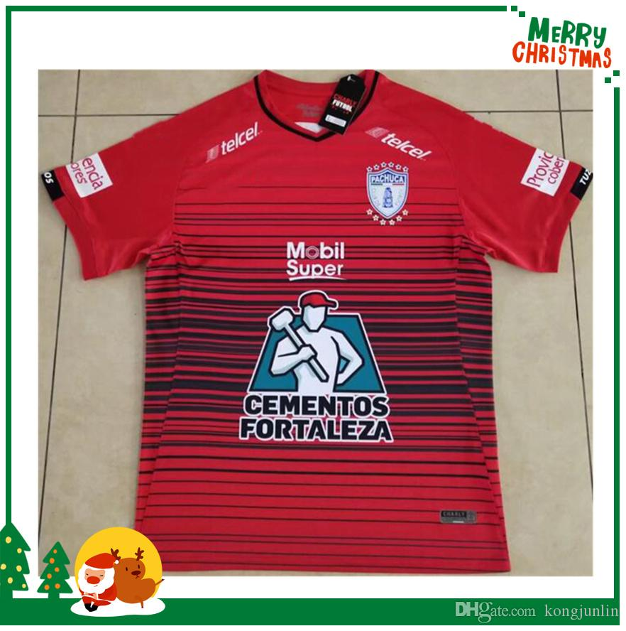 a8d37b60954 2019 2019 Liga MX Team Pachuca Soccer Jersey 19 20 Pachuca Home White Soccer  Shirt Mexico League Pachuca Away Black Football Uniform From Kongjunlin