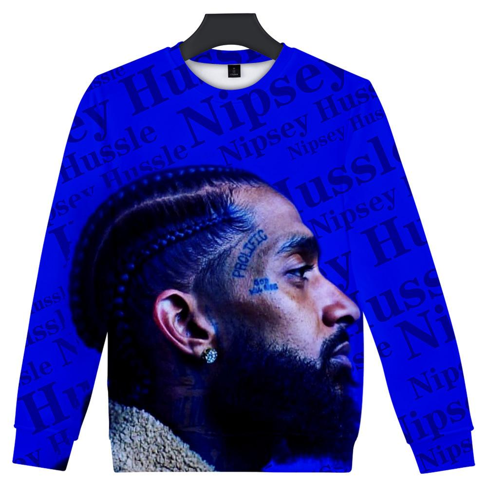 Mens Nipsey Hussle Hoodies Spring Summer O-neck 19ss Clothing Casual Harajuku Rap Lil Peep Pullovers