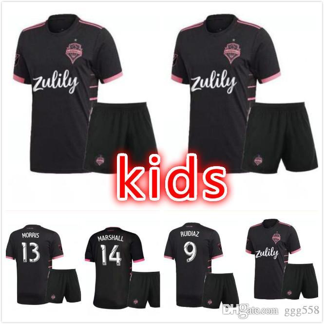 new arrival f42c8 7c9be kids 2019 Seattle Sounders soccer jersey 2019 2020 Away DEMPSEY MARTINS  ALONSO LODEIRO TORRES youth child football jerseys shirt