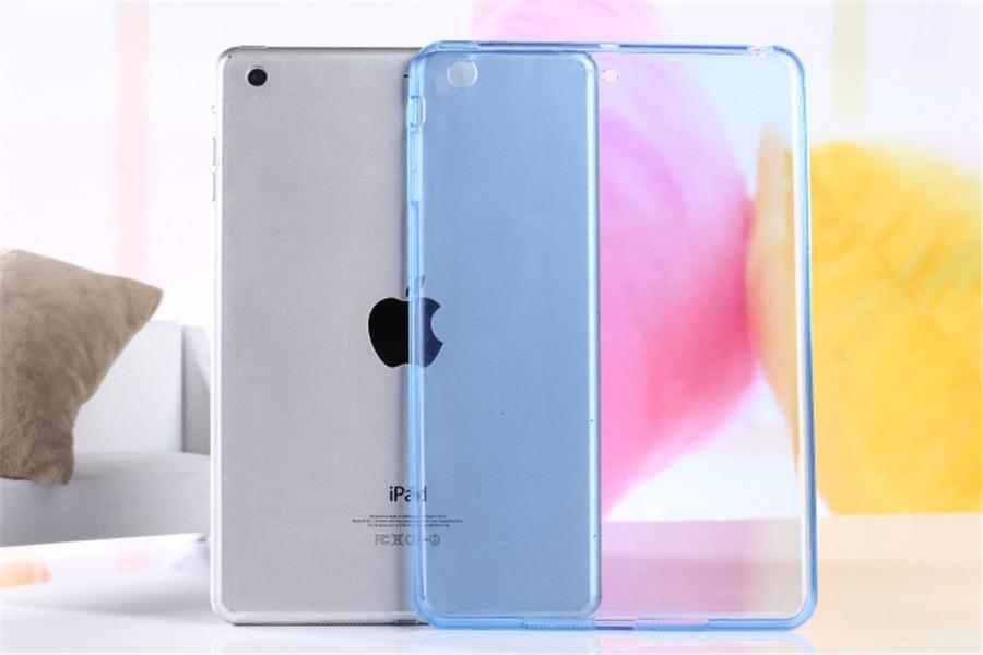 Haute qualité souple ultra mince Slim TPU transparent pour Apple iPad Mini 1 2 3 4 5 Ready Stock