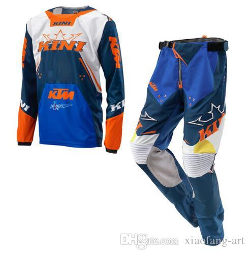 1c834e1e0b7b 2019 2019 Motocross Suit For KTM GP Air Motorcycle Racing Jersey And Pants  Combination MTB ATV MX Dirt Bike Riding Combo Sets KN1 From Xiaofang Art