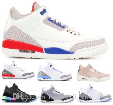 99f80eda06b UNC Basketball Shoes Sneakers Man Men Red Cement Quai 54 Chlorophyll  Katrina Nrg Tinker Charity Game Free Throw Line 2019 3s III Shoes Men  Sneakers Sneakers ...