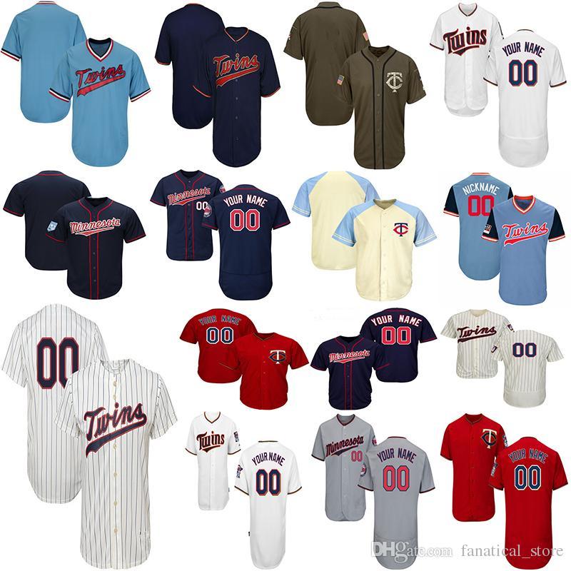 online store a1b65 2edb7 Customized Minnesota Twins Baseball Jerseys Mens Women Youth Miguel Sano  Jersey Byung-ho Park Byron Buxton Jersey Harmon Killebrew