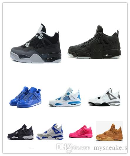 f8c9ec01ae99 2019 Cheap Women Retro 4s Basketball Shoes For Sale Oreo White Cement Aj4  Boys Girls Youth Kids Jumpman IV Air Flights Sneakers Boots From  Mysneakers