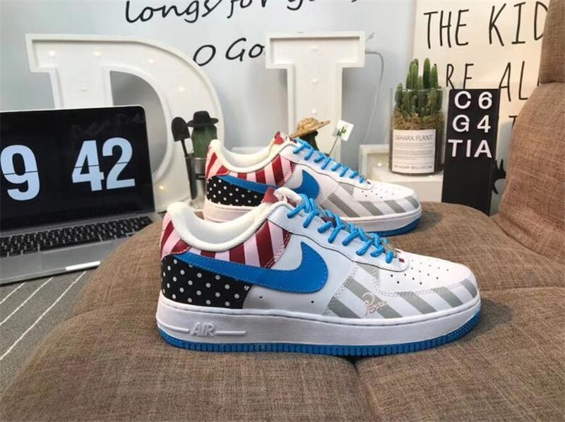 a8824974e832 Top Sale With Stickers Low Top High Top Sneakers Casual Shoes 2019 Man  Women Sneakers Quality Authentic Kicks Shoe Boots Fashion Shoes From  Uggmen