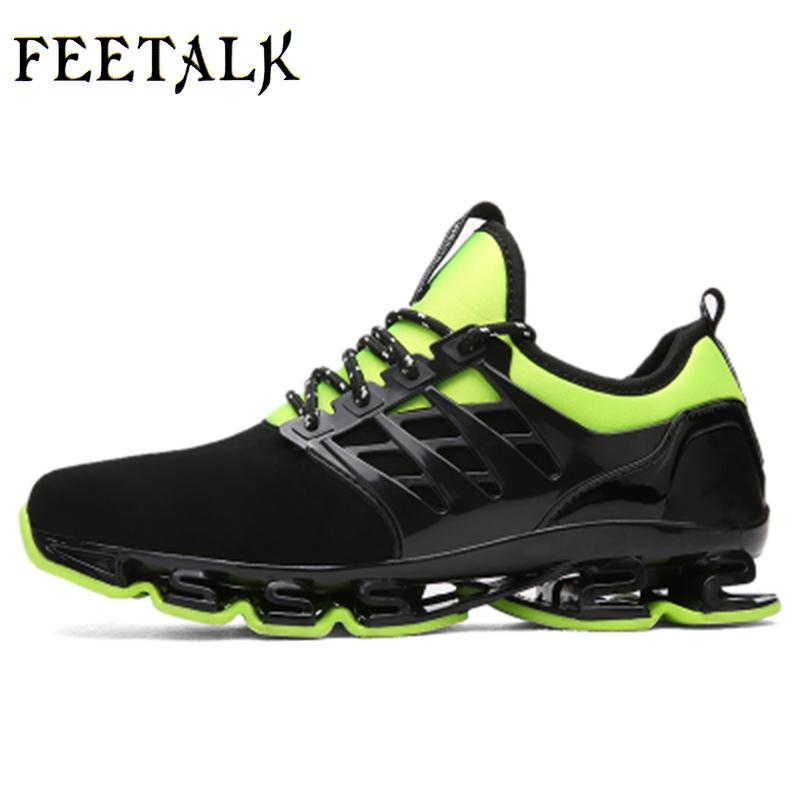 Men Sport Running Shoes Music Rhythm Men Sneakers Breathable Mesh Outdoor Athletic Shoe Light Male Shoe Size Eu 39-57