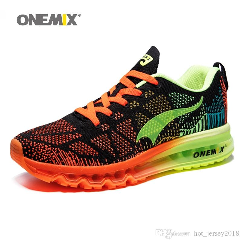 f27076277f03 2019 ONEMIX Air Running Shoes For Men 90 Women Free Weaving Sneaker Super  Light Shoes Sneaker Breathable Mesh Athletic Outdoor  115142 From  Hot jersey2018
