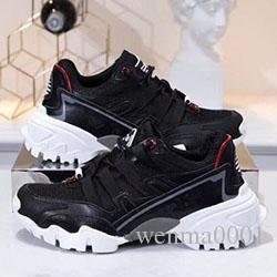 2019 designer new luxury casual fashion dad shoes ventilate sneaker couple men and women shoes 35 yards to 45 yards grey k6904