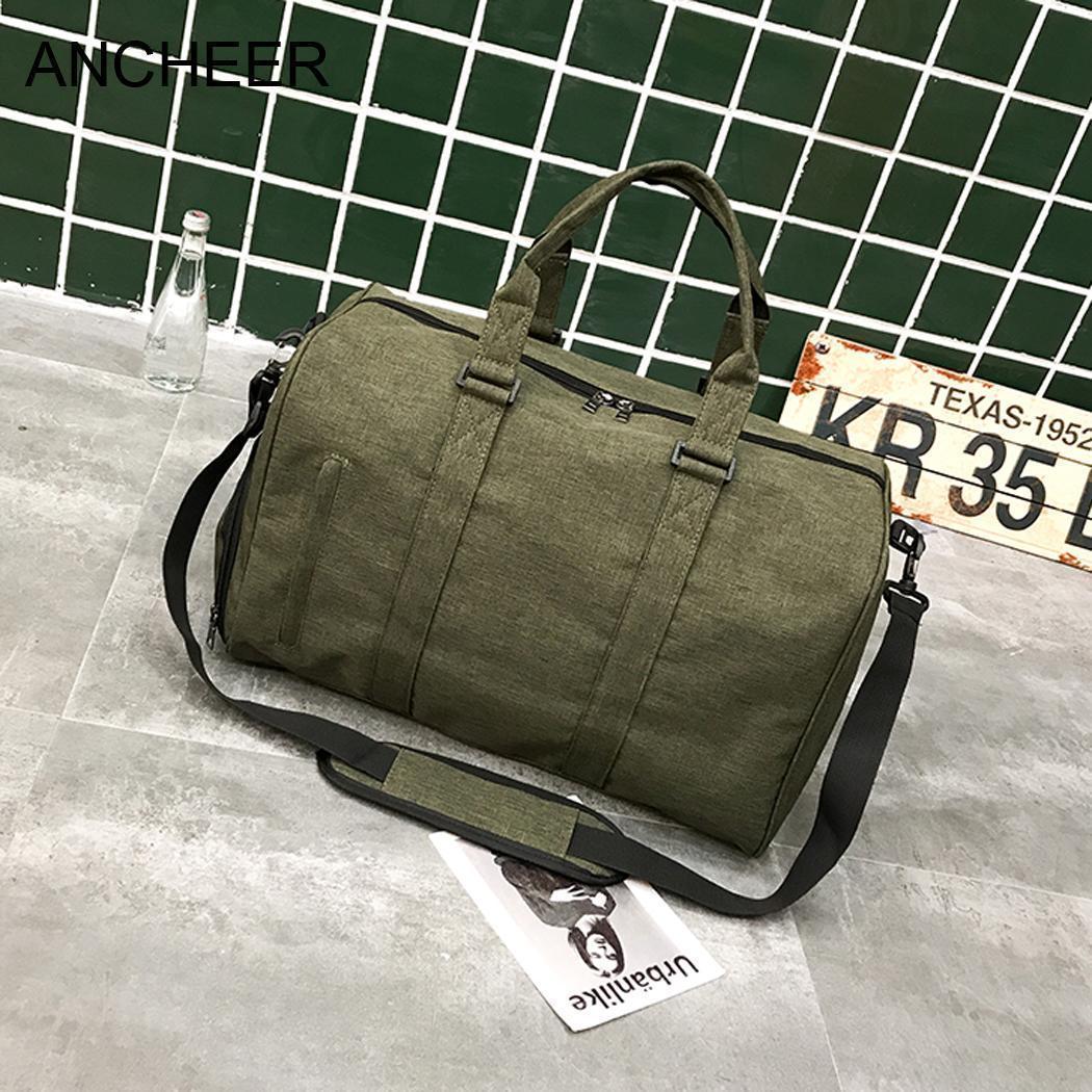 6d1caaa9b Compre Bolso Duradero De Lona De Viaje Tamaño Bolsa De Lona Con  Compartimiento De Zapatos A $40.06 Del Derrick89 | DHgate.Com