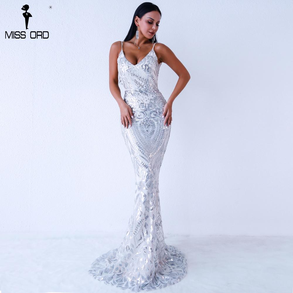 eb8a511d27 Missord 2019 Women Sexy Off Shoulder Sequin Dresses Female Backless Maxi  Elegant Party Reflective Dress Vestdios Ft9314 Y19053001