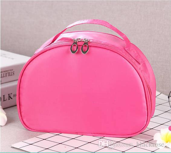 new Cosmetic bag large capacity portable student storage bag cute cosmetic case wash bag fashion Korean storage box waterproof