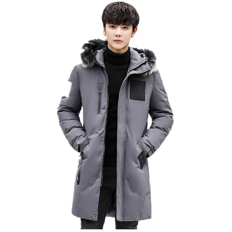 Acquista Piumino Cappotto Uomo Abbigliamento Streetwear Caldo Lungo  Cappotto Lungo Parka Uomo Giacche E Cappotti Invernale Manteau Homme Hiver  ZL1102 A ... 767b1e4da7c