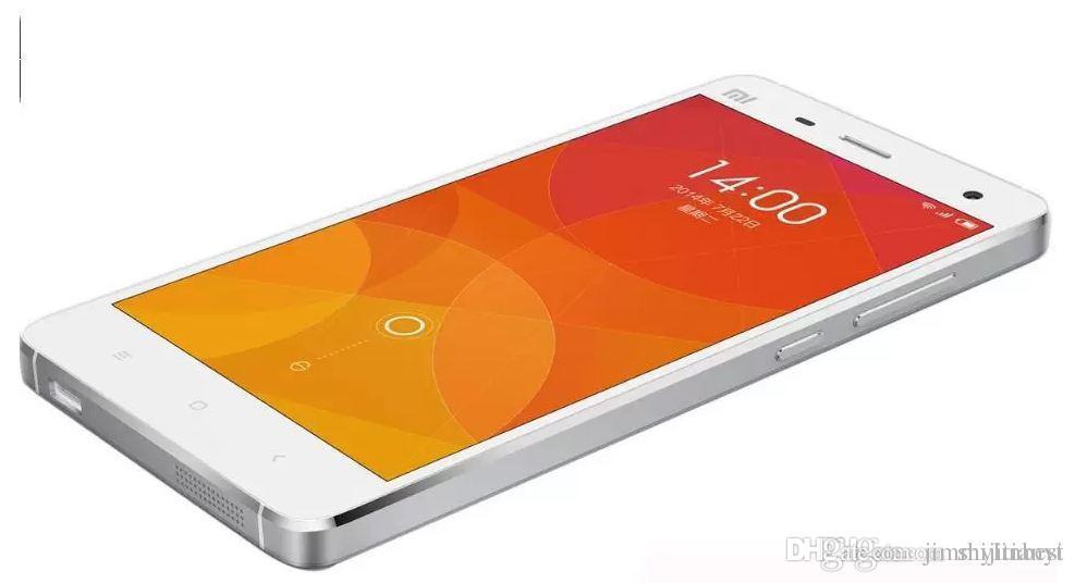 Atacado Original Xiaomi Mi4 4G FDD-LTE MIUI 6 Quad Core RAM 2 GB ROM 16 GB  5 0 polegada 1920 * 1080 FHD 13 0MP telefones celulares de smartphones