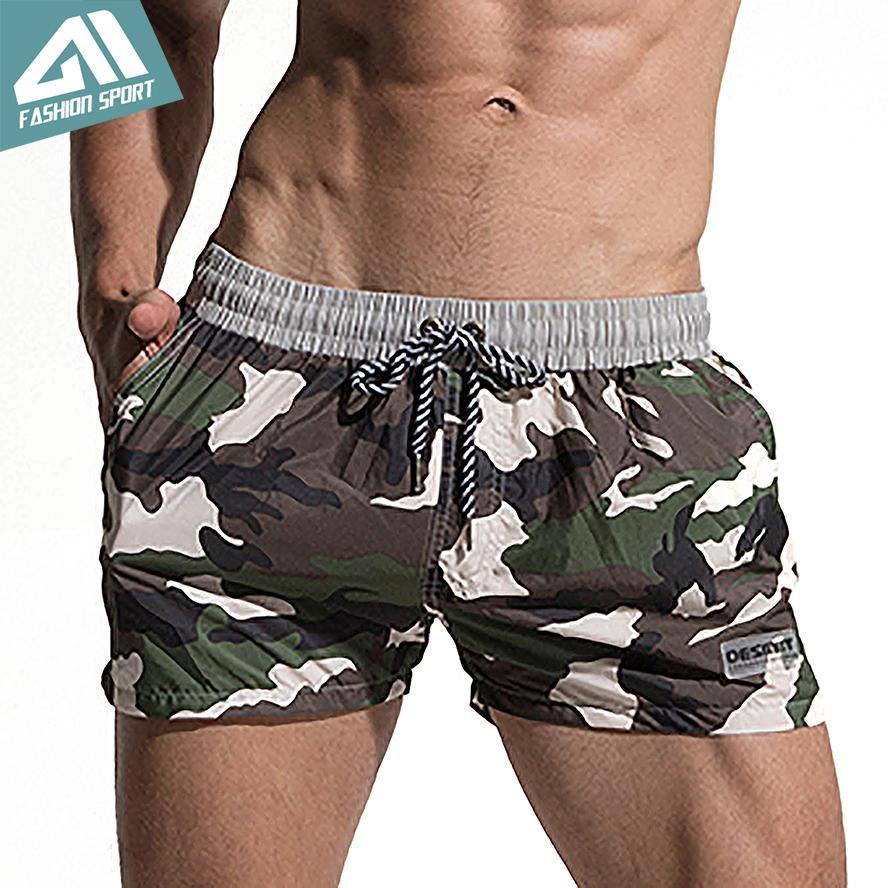 54a0b7d42fb91f 2019 Desmiit Fast Dry Men'S Board Shorts Summer Camouflage Beach Surfing  Man Swimming Shorts Athletic Sport Running Gym Shorts Am2030 C19040301 From  ...