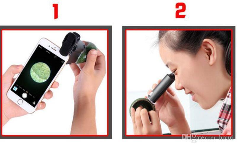 أفضل ترويج العالمي 60X-100X زووم بصري عدسة مجهر للحصول على كاميرا آيفون 6 سامسونج HTC ووتش أدوات إصلاح