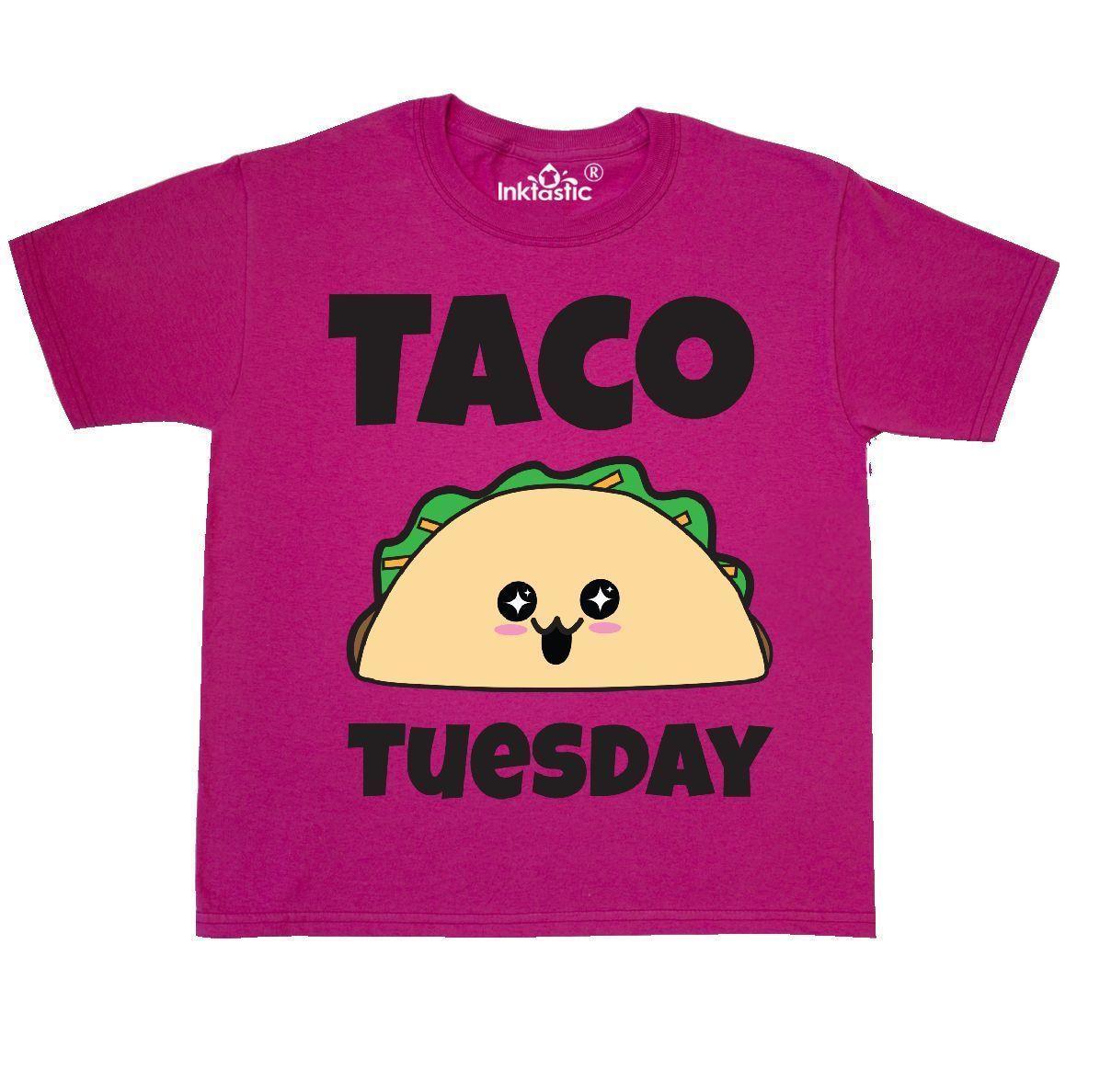 9aaea300 Inktastic Kawaii Taco Tuesday Youth T Shirt Harajuku Japanese Food Cute Tee  Kids Men Women Unisex Fashion Tshirt Graphic T Shirt Design Own T Shirt  From ...