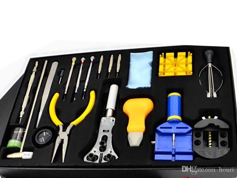 20PCS / مجموعات ووتش أدوات إصلاح سوبر أدوات التحرير والسرد ووتش أدوات الصيانة إصلاح الساعات الساعات الفرقة