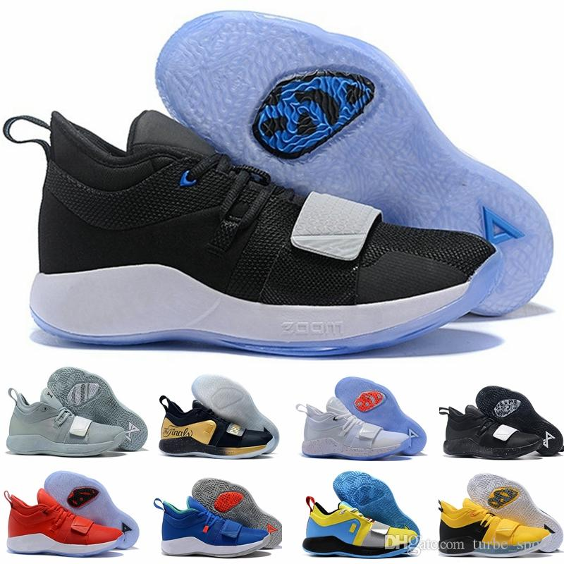 finest selection 8f2c6 f1872 2019 PG 2.5 University Red MOON EXPLORATION Racer blue Amarillo White Black  Grey MVP Mens paul george shoes pg2 Playstation size 7-12