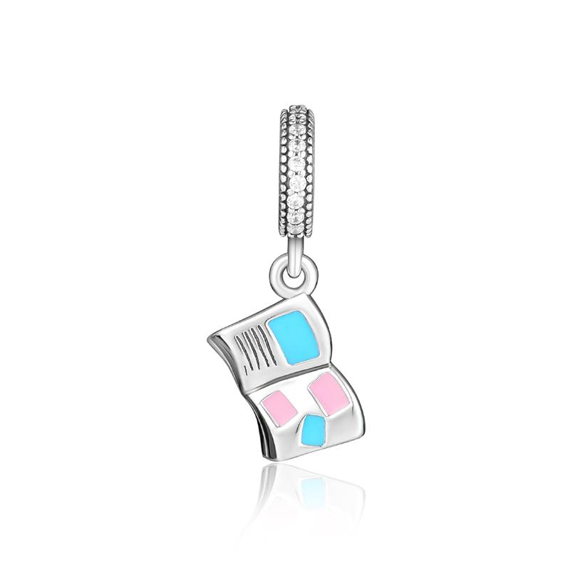 0941fdf44 2019 Fits For Pandora Charms Bracelets Love Letter Beads With Mixed Enamel  &Amp; Clear CZ 100% 925 Sterling Silver Jewelry From Diannecklace, ...