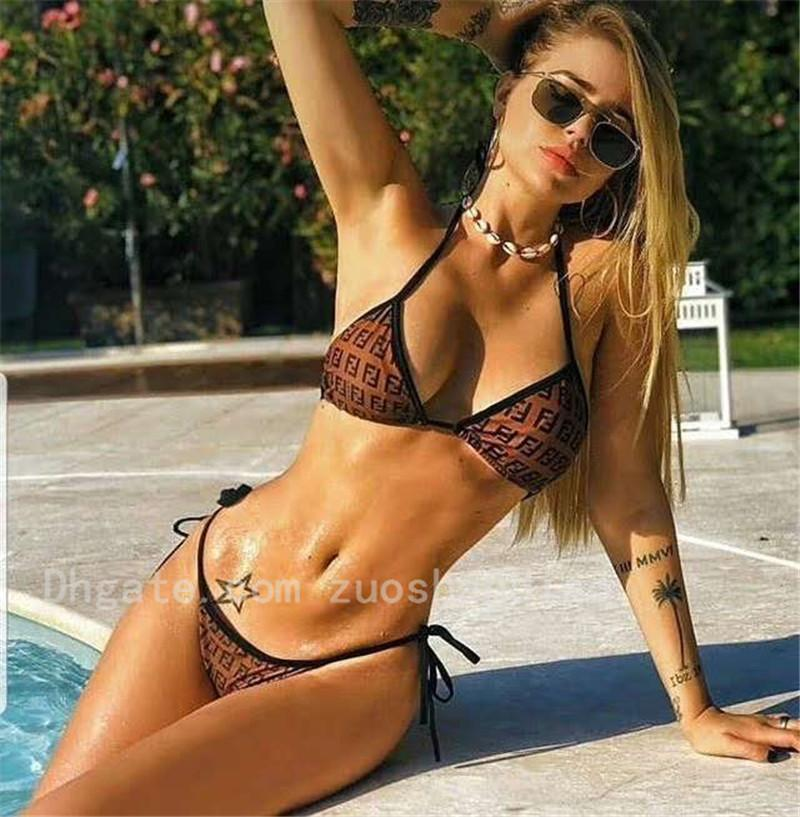 Women Sexy Three-point Bra Briefs High-end Women Summer Beach Lady Soft Cotton Swimsuit Suit Fashion Swimsuit Two-piece Underwear