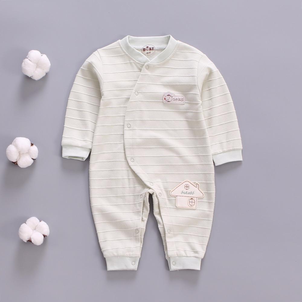 6a66770b3 2019 Quality Spring Autumn Newborn Cotton Rompers Cartoon Baby Boy ...
