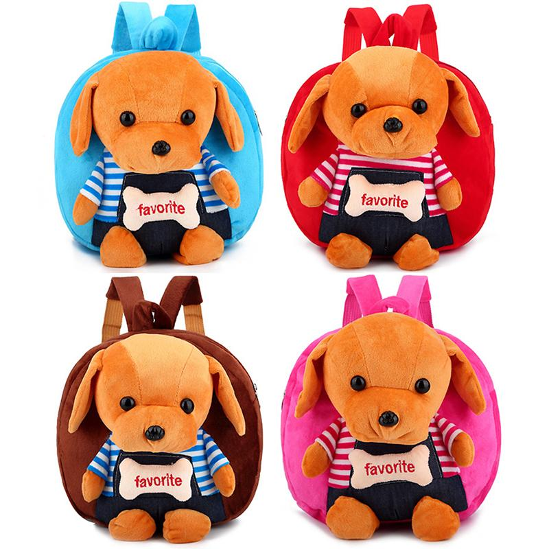 2019 Cartoon Children Plush Backpack Plush Dog Toy Compartment Storage Child  Backpack Bag Fashion Cute Kids Gift 2019 New Surprise From Bosiju d7a3ff4274605