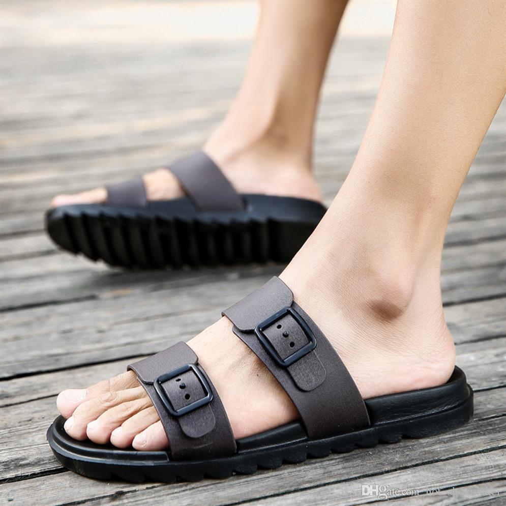 2fd8c7be Compre Sandalias De Verano Para Hombres Zapatos De Ocio Zapatillas Chanclas  Calzado Sandalia Suave Sandalias De Hombre Zapatillas Sandalias Vintage  Hombre ...