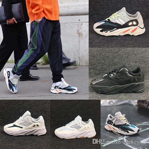 premium selection c8518 4c077 Adidas Yeezy Boost Yeezy 700Desinger Zapatos 700 Malva Para Correr Zapatos  Para Hombre La Mejor Calidad Wave Runner 700 Kanye West Diseñador  Zapatillas De ...
