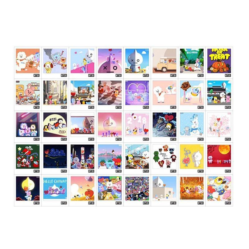 Compre Kpop Bts Bangtan Boys Love Yourself Album Tarjeta De Foto