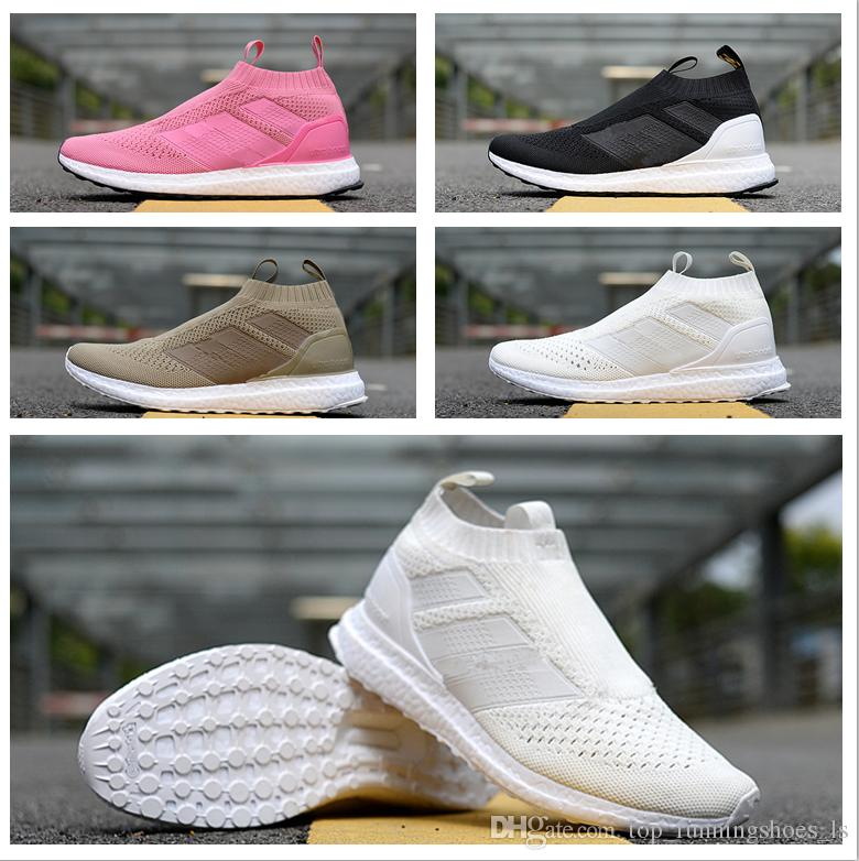 hot sale ACE 16 + PureControl Ultra Boost Beckham Uncaged Casual Socks Shoes Top quality for Men Women Sneakers boost with box men shoes for