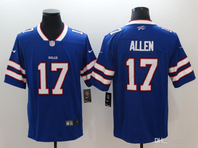 purchase cheap a952d db972 Buffalo Tre'Davious White Bills jersey Josh Allen Jim Kelly vapor  untouchable color rush limited customized american football jerseys xxxl