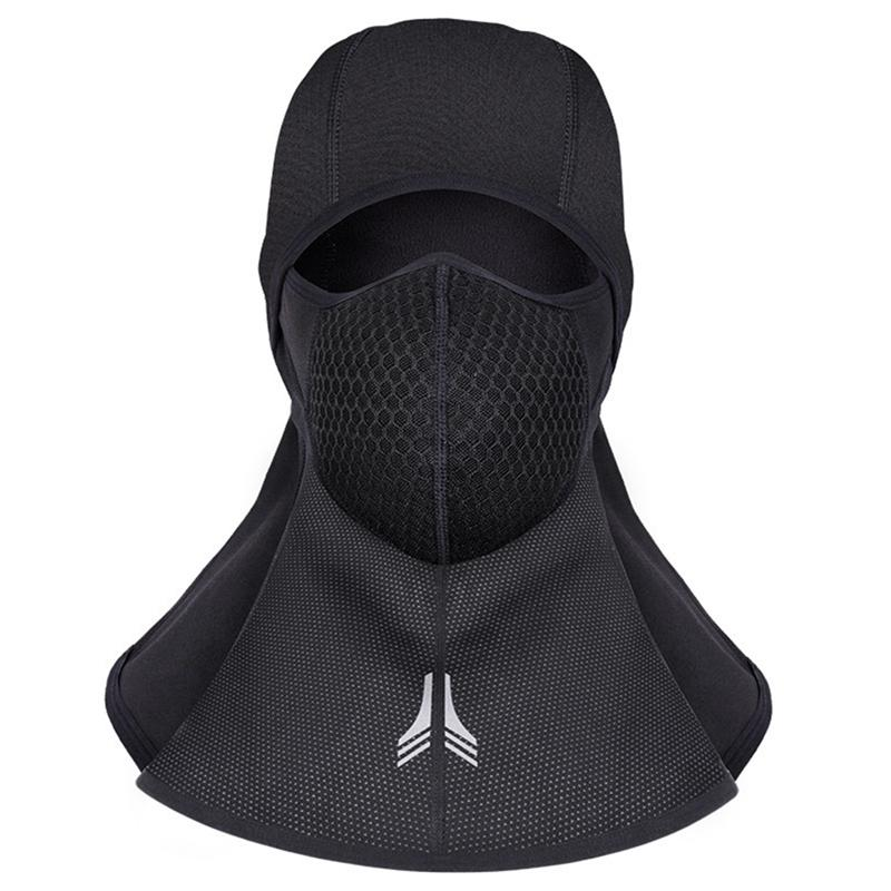 43e74aa3ddbc1 2019 New Winter Cycling Face Mask Warm Fleece Bike Hiking Full Face Cover Mask  Ski Snowboard Hook Neck Scarf Windproof Facemask From Wudun