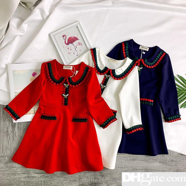 dbaad99b582ec 2019 The designer Summer Brand Girl Dress Child Kids Children's Clothing  Princess Print Clothes Vestidos Roupa Menino Cotton Dresses-20