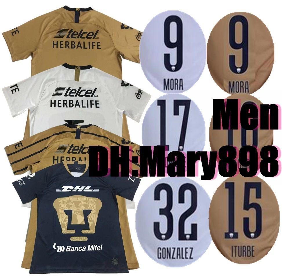 236c5b36dd2 2019 FORMICA ABRAHAM 18 19 UNAM Pumasl White Home Soccer Jersey Away Blue  Mexico Camisetas De Futbol Cougar Football Cortes 2018 Martinez Shirt From  Mary898 ...