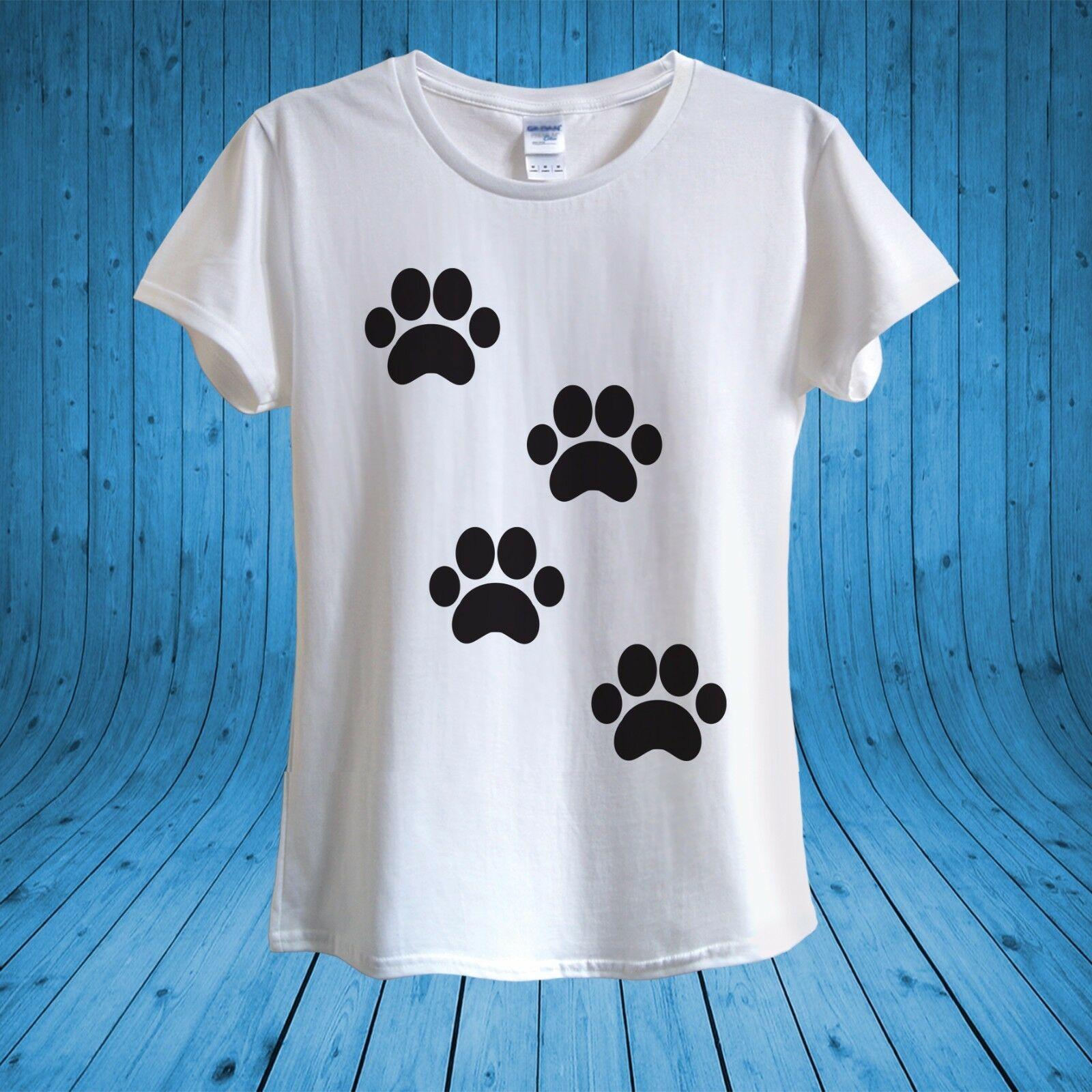 6c5fa6447 Cute Cat Paw prints Kitty Love Cats T-shirt hoodie hip hop t-shirt jacket  croatia leather tshirt denim clothes camiseta t shirt