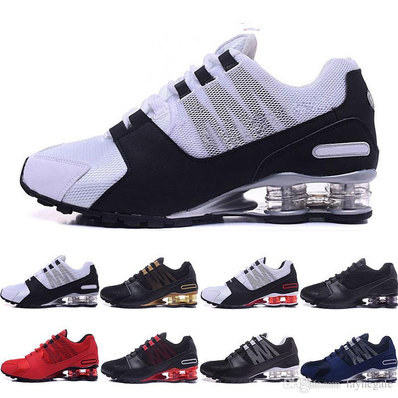 Scarpe da corsa uomo a buon mercato OZ NZ TLX R4 809 Athletic Sneaker rosso bule nero bianco Sport Outdoor Walking Shoe Size 36 46