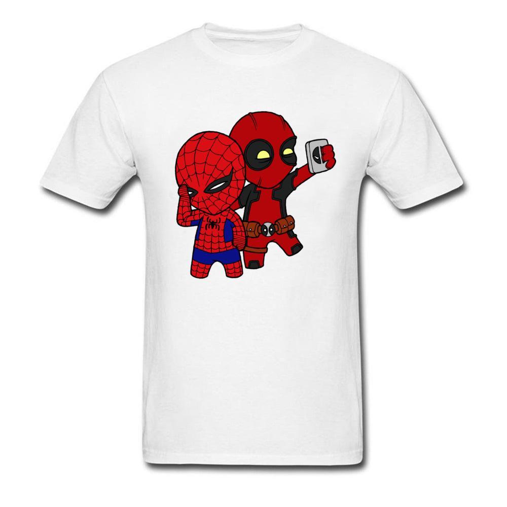 Grosshandel 90er Jahre Cartoon Deadpool T Shirt Manner Marvel Manner