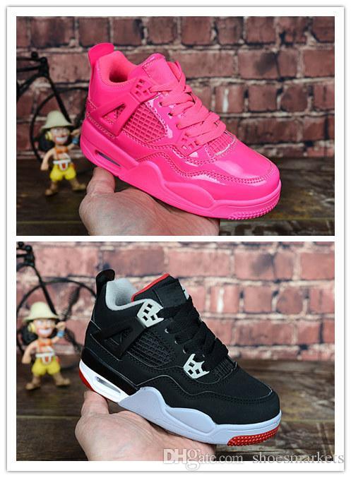 pretty nice 1313a 7ef71 Acheter Chaussures Enfants Basketball Chaussures Vente En Gros Nouveau 4  Espace Jam 72 10 CNY 4S Sneakers Enfants Sport Running Fille Formateur  Garçon ...