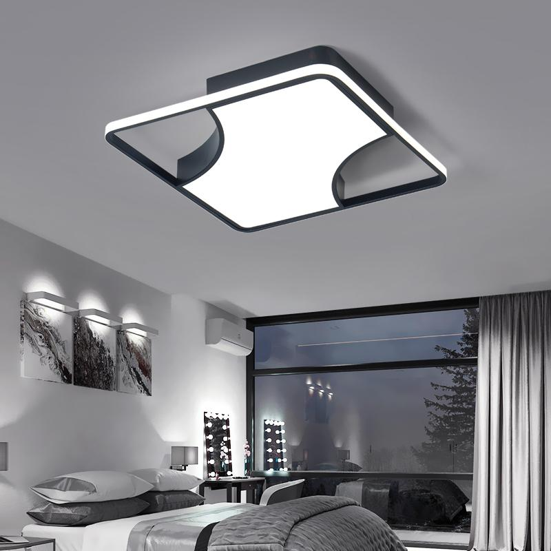 2019 Simple Modern Design Home Led Ceiling Lamp Square Creative