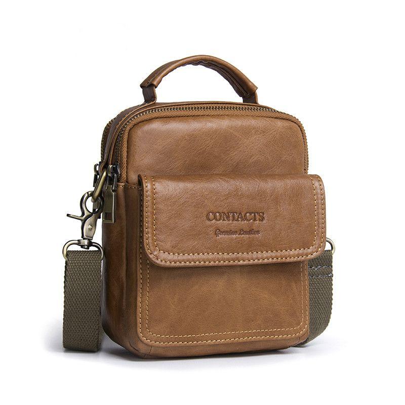 2019 Men S Cowhide Bag Man Famous Brand Shoulder Luxury Handbags Women Bags  Designer Men Fashion Genuine Leather Messenger Bags Hobo Bags Designer Bags  From ... 6ffc4a5737277