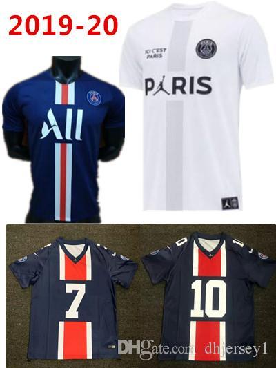factory authentic 231ca 76eca kids New Thailand maillots 2019 2020 PSG Jordam soccer jersey 19 20 Paris  saint germain shirt MBAPPE CAVANI maillot de foot football shirt