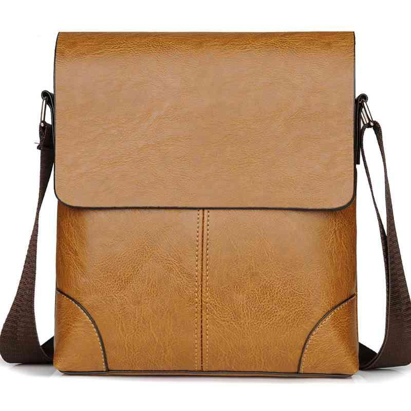 926fe549b1 Vintage Crossbody Bag For Men Leather Men Bag Fashion Shoulder ...