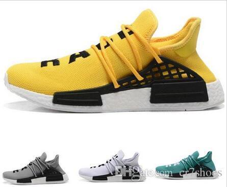 f9fcefb16b806 2018 Cheap Wholesale NMD HUMAN RACE Pharrell Williams X 2016 Men S    Women S Discount Cheap Fashion Sports Shoes Free Ship With Box Sale Shoes  Men Shoes ...