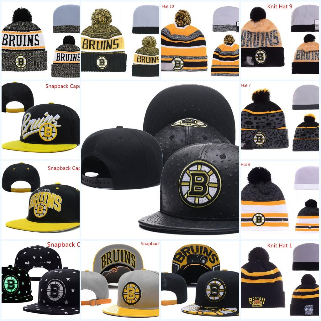 e74305a7566c70 2019 Boston Bruins Snapback Caps Adjustable Hat Black White Red Grey Boston  Bruins Knit Hat Hockey Beanies Caps From Xt23518, $10.09 | DHgate.Com