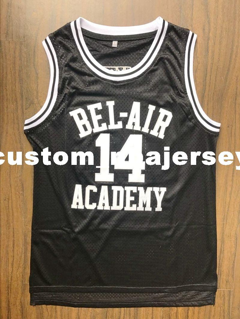 2019 Cheap Custom The Fresh Prince Of Bel Air Academy Jersey Will Smith  Black Stitched Customize Any Number Name MEN WOMEN YOUTH XS 5XL From ... a98ca100e6