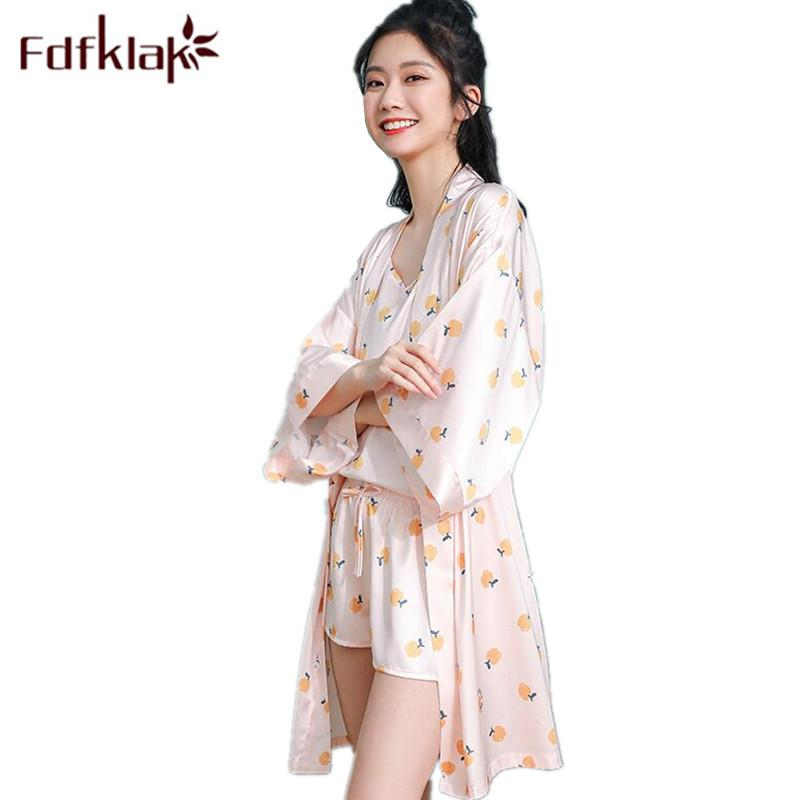 aedd954d4b7 2019 Summer 2019 New Sleepwear For Girl Pijama Sexy Pink Pyjamas Women  Night Suit Pajama Set Home Clothes For Women Fdfklak From Isaaco