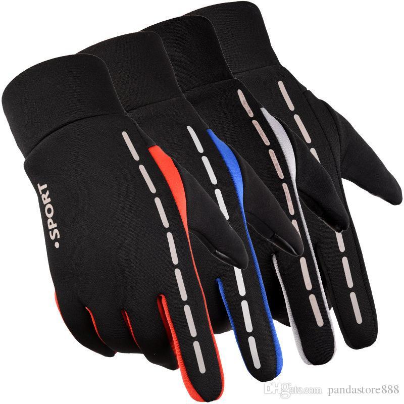 Gants tactiles, gants de conduite, gants d'hiver, gants pour hommes / femmes, gants pour écran tactile, gant de sport en plein air imperméable et coupe-vent