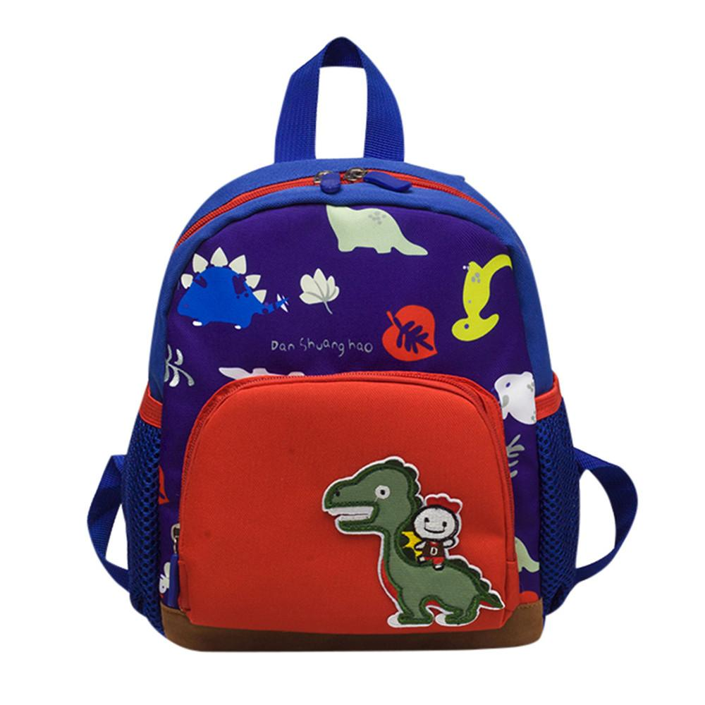 Baby Boys Girls Kids Bag Dinosaur Pattern Cartoon Backpack Toddler School  Bags Casual Backpack For Children Backpacks For Girls Waterproof Backpack  From ... 6233cc471ed79