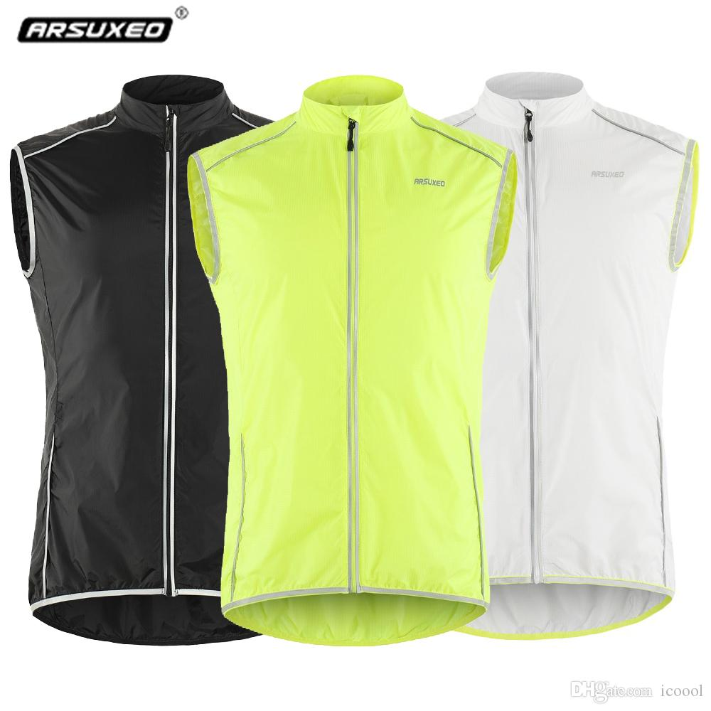 b96c1c14c Wholsale Reflective Pro Cycling Vest Men Windproof MTB Road Bike Jacket Bicycle  Jersey Top Sleeveless Cycle Clothing Chaleco Ciclismo Cycling Vest Cycling  ...